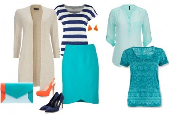zomerse look